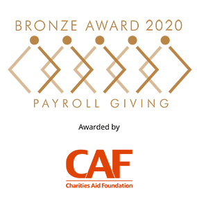 Payroll Giving Bronze Award 2020
