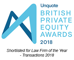 British Private Equity Awards 2018